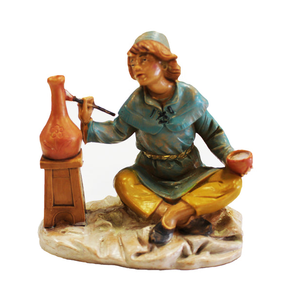 Fontanini Andrew The Potter Figurine - 5 Inch Collection