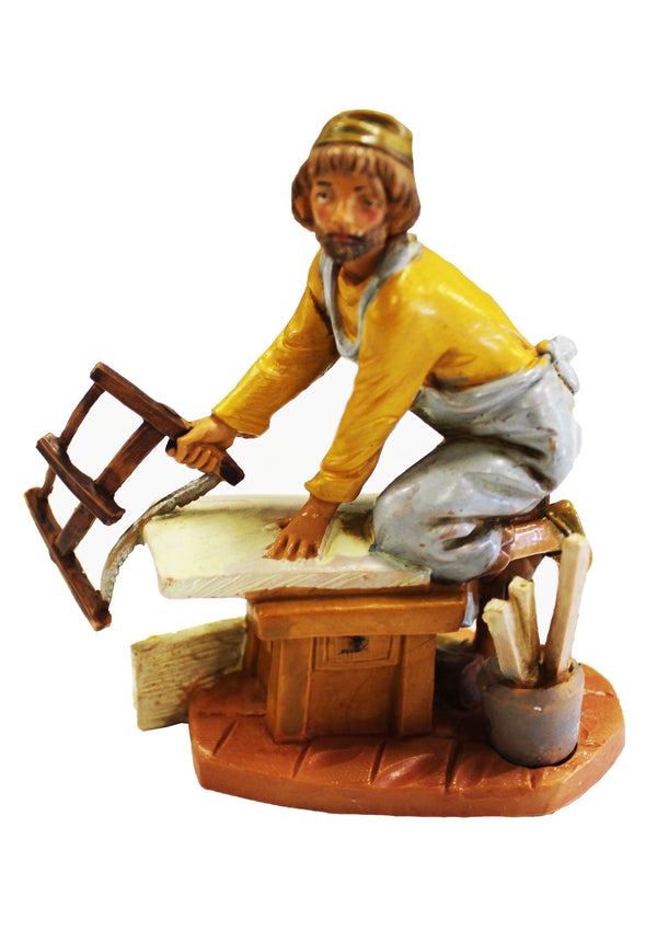 Fontanini Amos The Carpenter - 5 Inch Collection