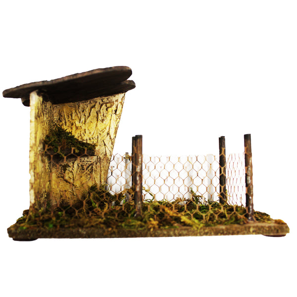 Fontanini Bird Shelter - 5 Inch Collection