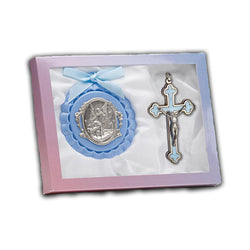 Crib Medal And Baby Crucifix - GB100/8690