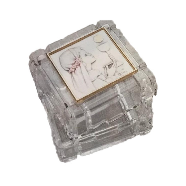 Sterling Silver Salerni First Communion Keepsake Box