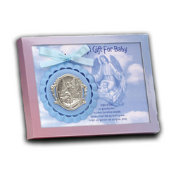 Guardian Angel Crib Medal - 100/S
