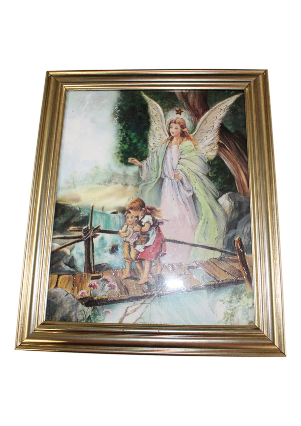Framed Guardian Angel-107231