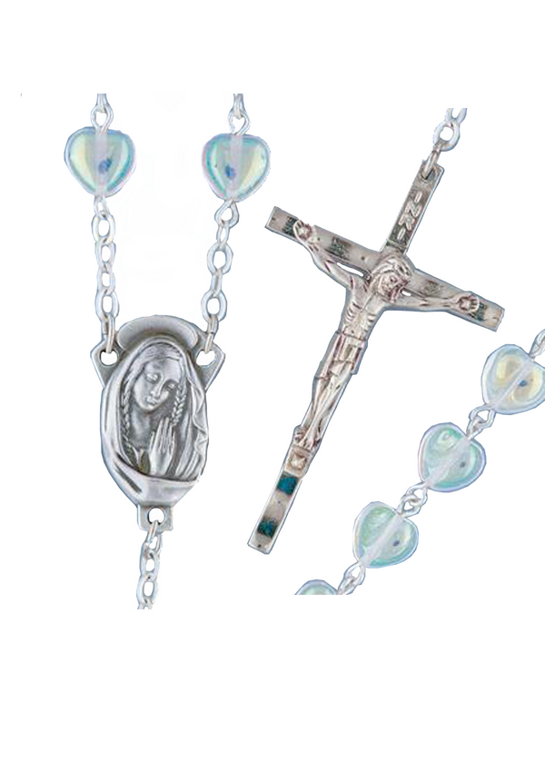 Heart Shaped Rosary - 995/CR