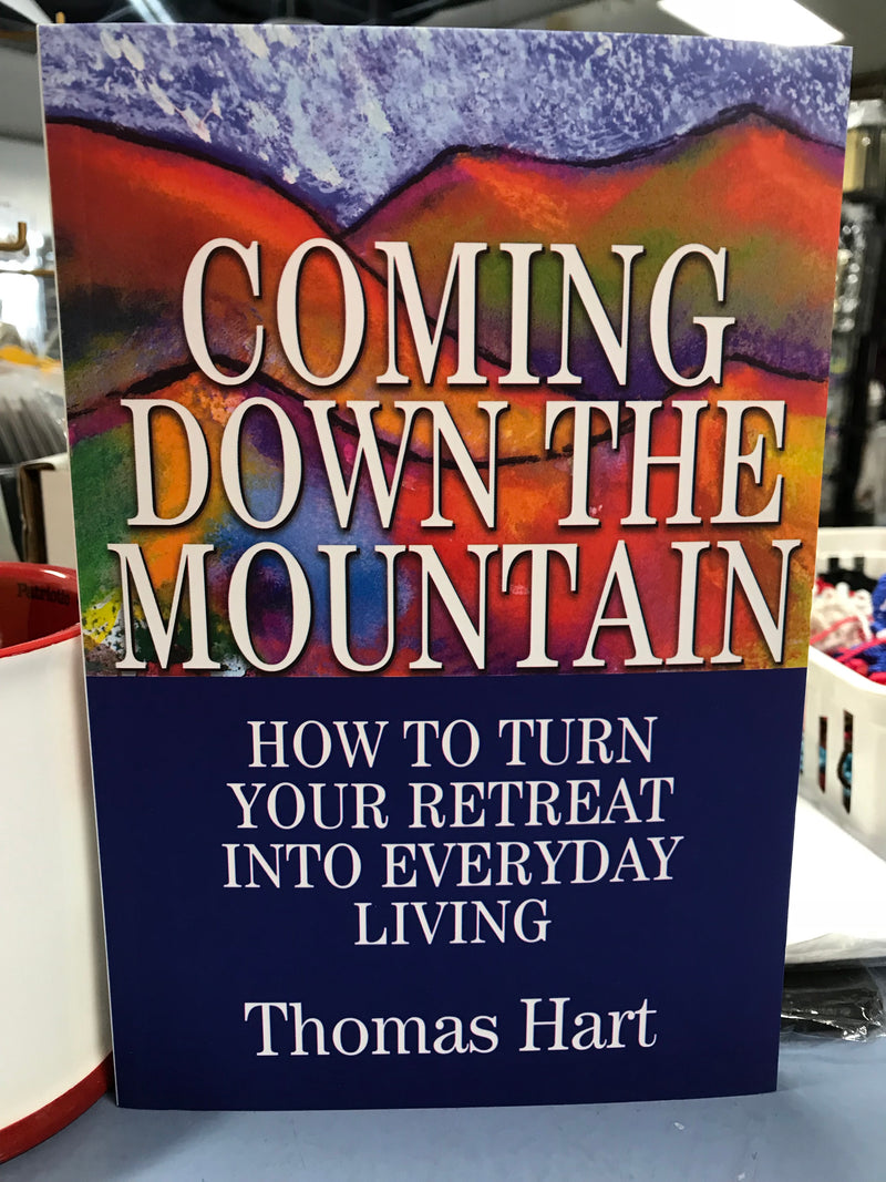 Coming Down The Mountain Book Eng By Thomas Hart