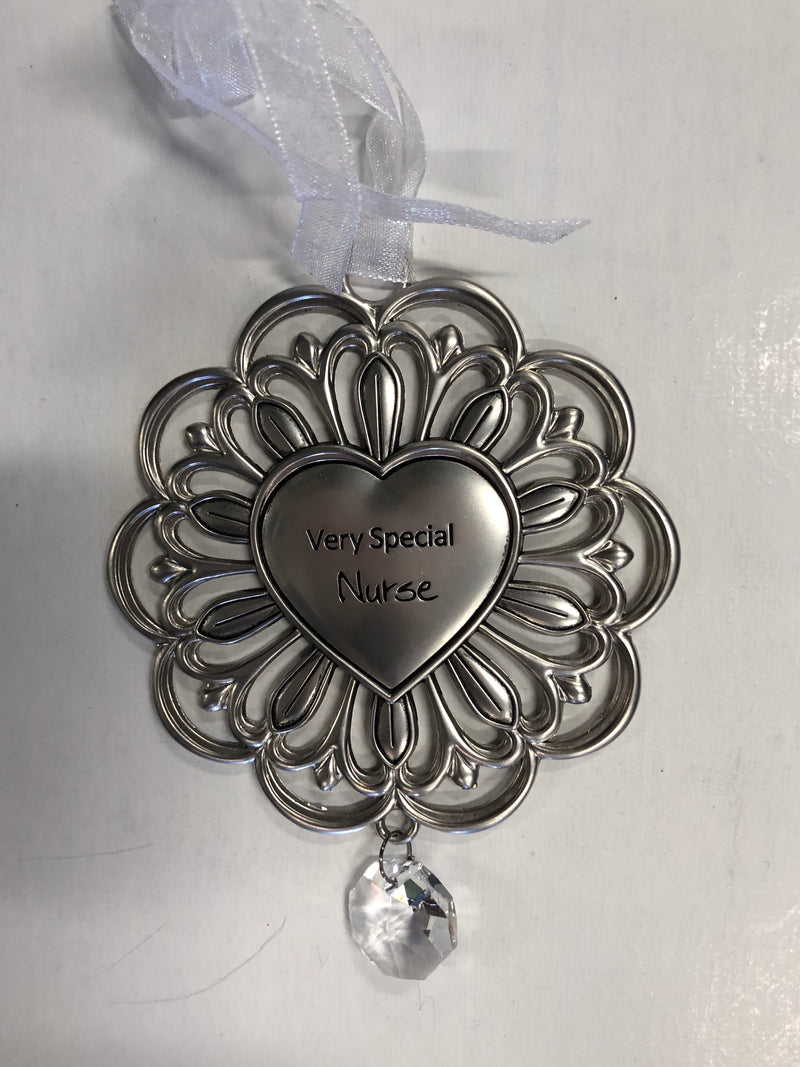 Very Special Nurse Pewter Ornament
