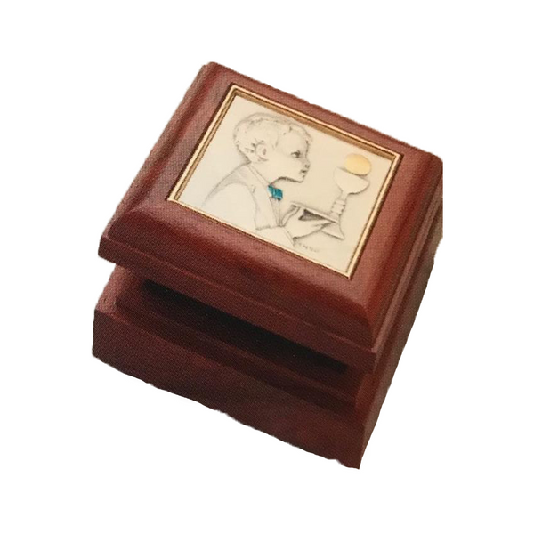Rosewood or Maple Keepsake Box For Boys or Girls