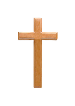 11in. Maple Cross with Beveled Edges