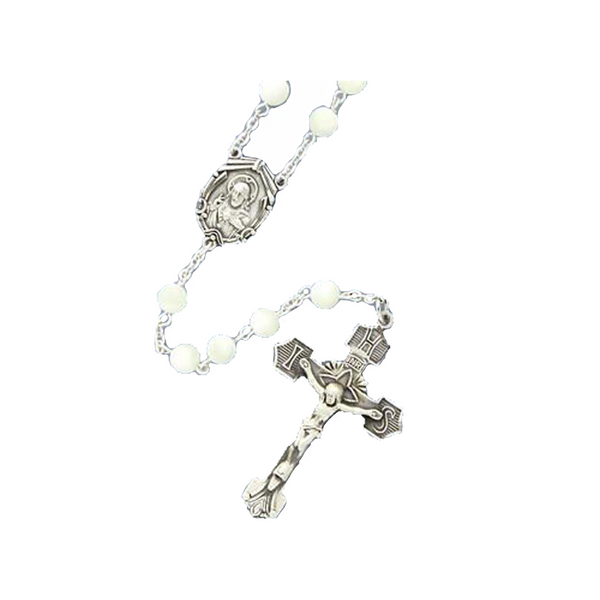 Mother of Pearl Rosary - MOP/6