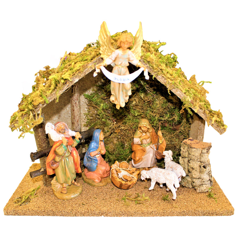 7 Piece Nativity Set by Fontanini -5 Inch Scale