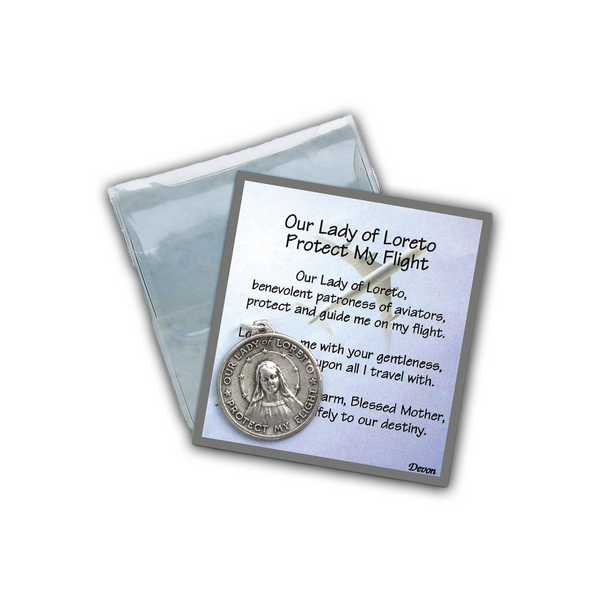 "Our Lady of Loreto ""Protect My Flight"" Prayer Folder-83_LO"
