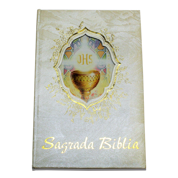 First Communion Bible In Spanish Sagrada Bibilia