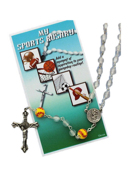 Sport Rosary - 60465/WH/SFBL