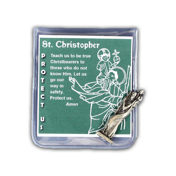 St. Christopher Travel Prayer Folder-83/SCHR