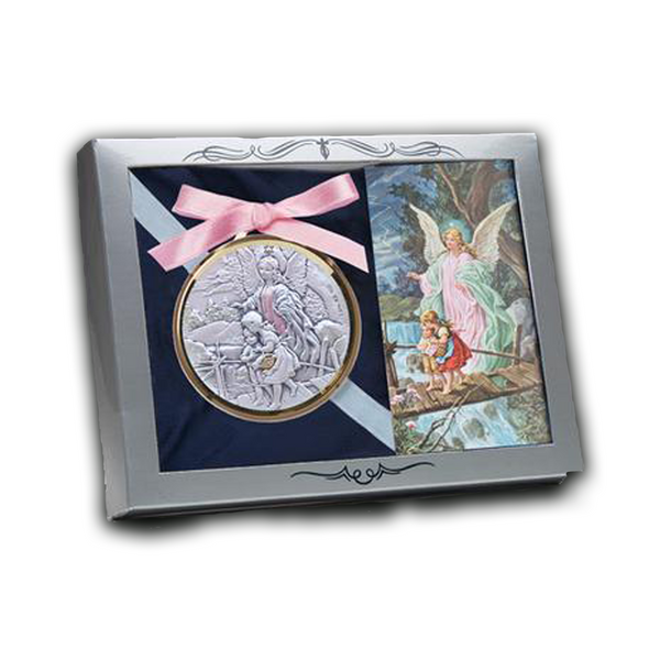 Sterling Silver Medallion - AG1002/GB