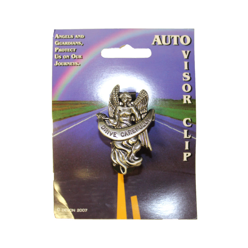 "Angel ""Drive Carefully"" Visor Clip"