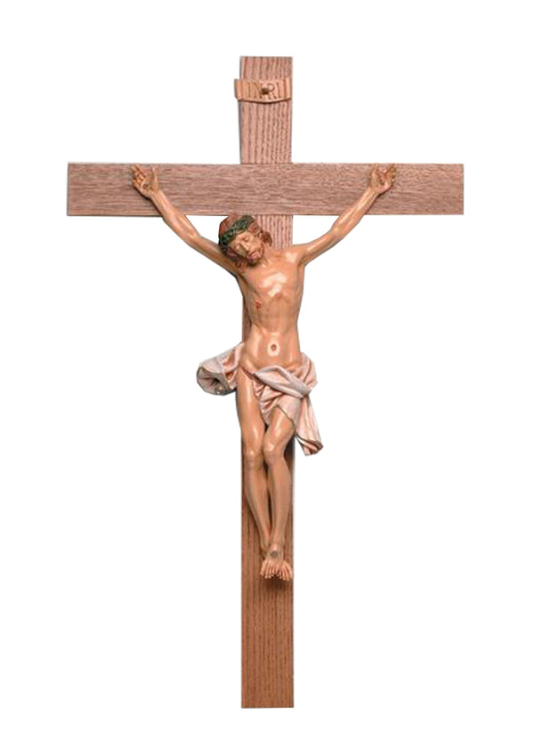 35in. Walnut Crucifix-17/111