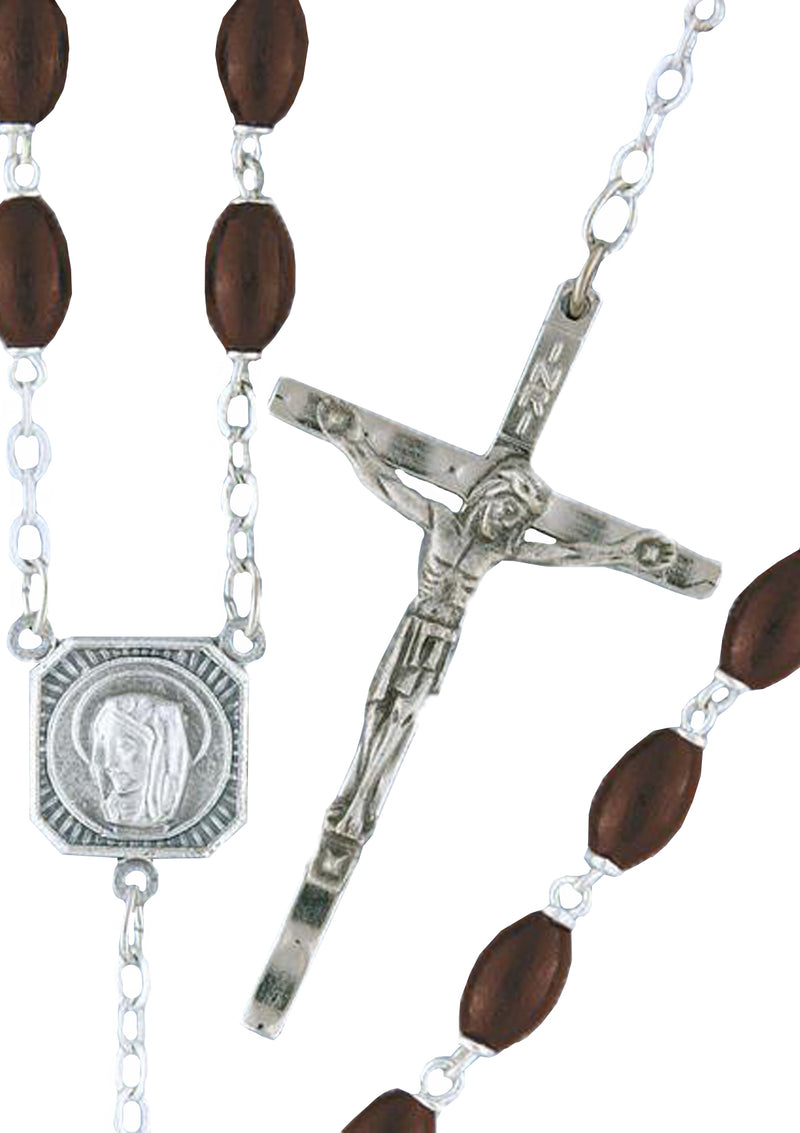 Wood Rosary - 62/R