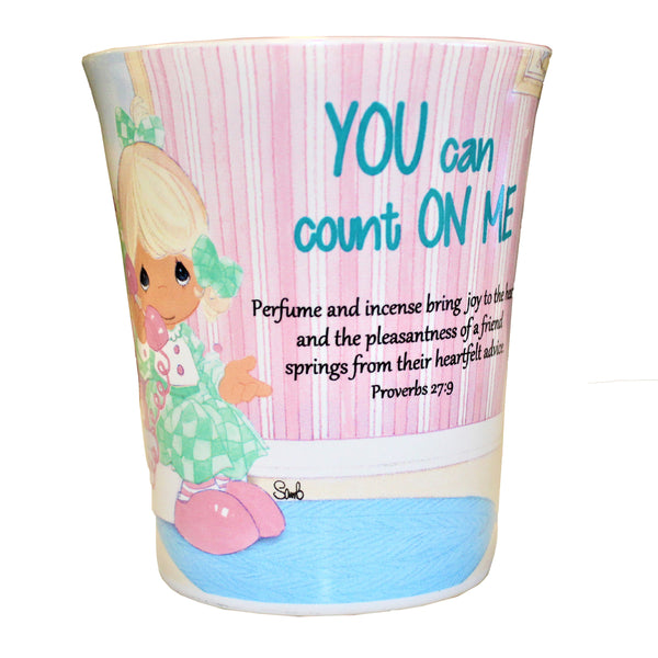 "Precious Moments Mug ""You Can Count On Me"""