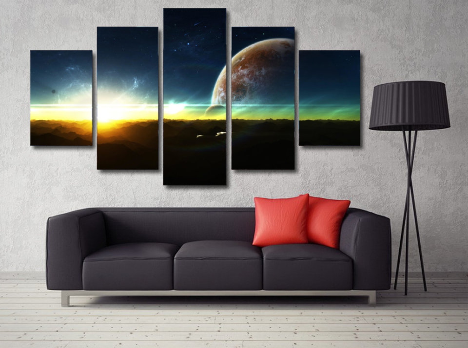 Beautiful Space Wall-Art