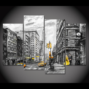 NYC Canvas Oil Printing