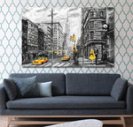 It's Always Sunny in NYC Canvas Print Painting