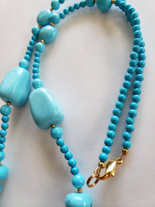 Lee Sands Fancy Magnesite Necklace