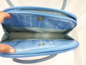 Lee Sands Eel skin Organizer Handbag