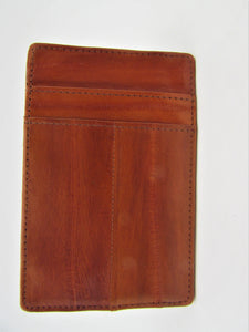 Lee Sands Eel skin Mini ID Card holder