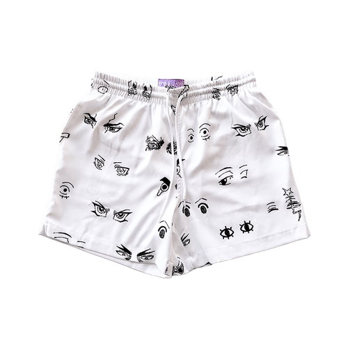 Identity Eyes Swim Trunks - Wooji
