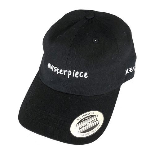 masterpiece dad hat black