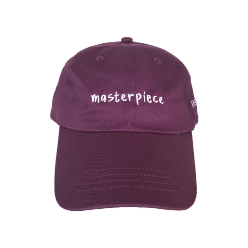 Masterpiece Dad Hat Burgundy
