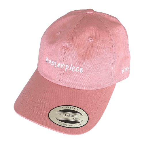 Masterpiece Dad Hat Pink - Wooji