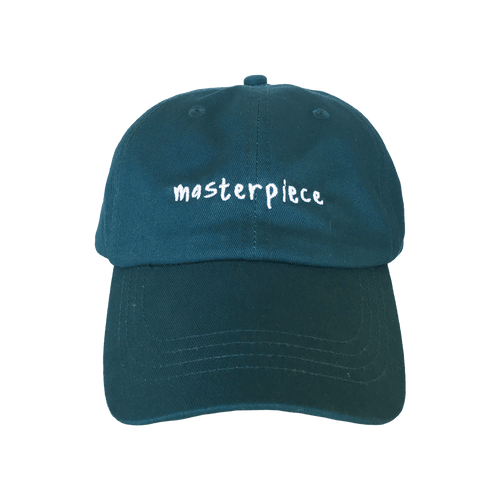 Masterpiece Dad Hat Teal