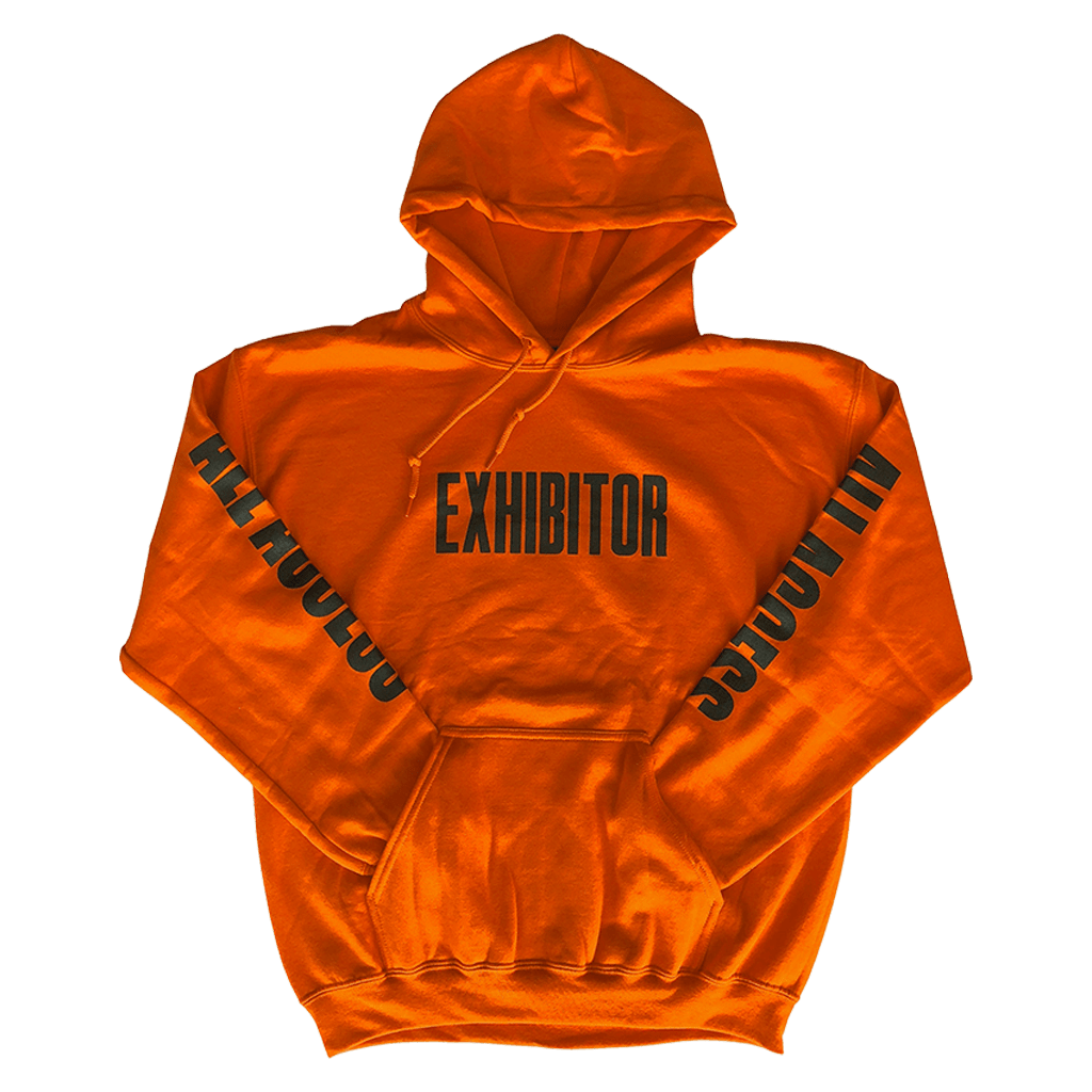 Wooji Tour Exhibitor Hoodie Orange - Wooji