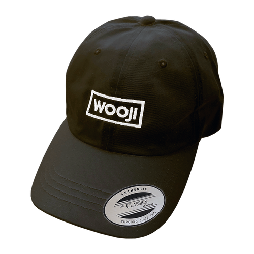 Wooji Box Logo Dad Hat Black - Wooji