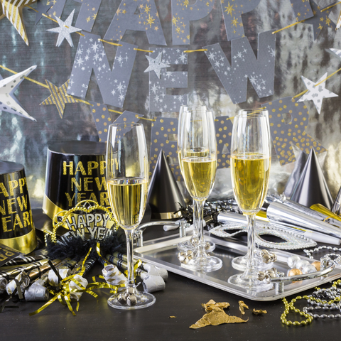 7 At-Home New Year's Eve Party Ideas to Celebrate 2021