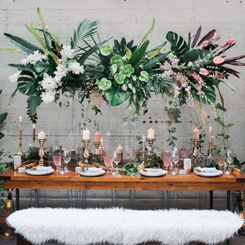 15 DIY Table Centerpiece Ideas for Your Next Adult Birthday Party