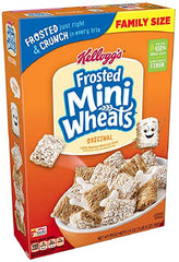 Frosted Mini Wheats Cereal introduced in 1969. Awesome 50th birthday idea for husband.