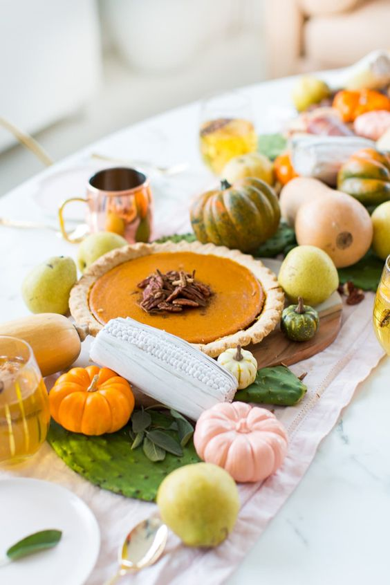 DIY Thanksgiving Table Adult Centerpieces & Decorations