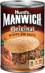 Manwich introduced in 1969. Awesome 50th birthday idea for husband.