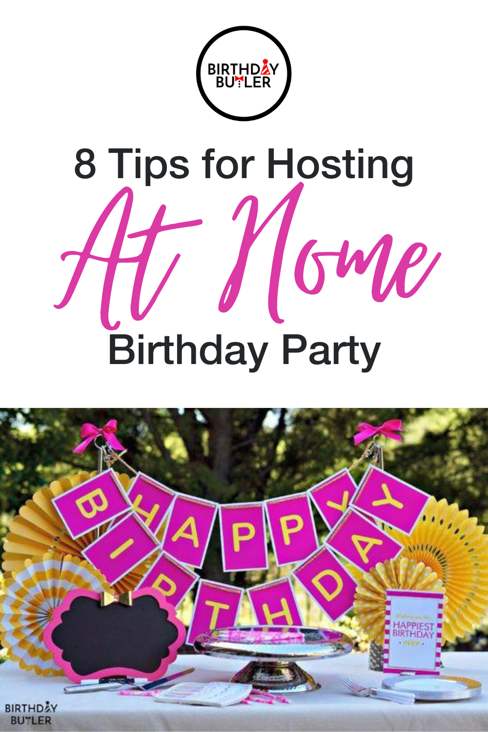 adult birthday party at home