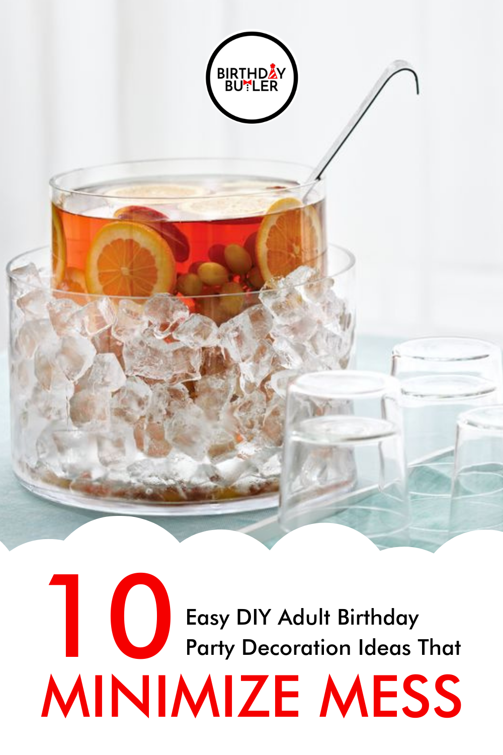 Easy DIY Adult Birthday Party Decoration Ideas