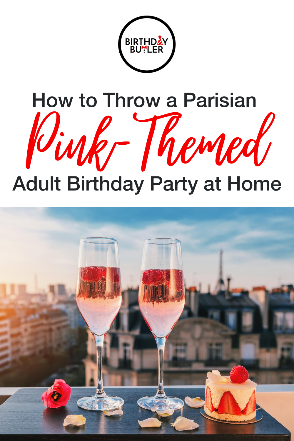 adult pink birthday party theme at home