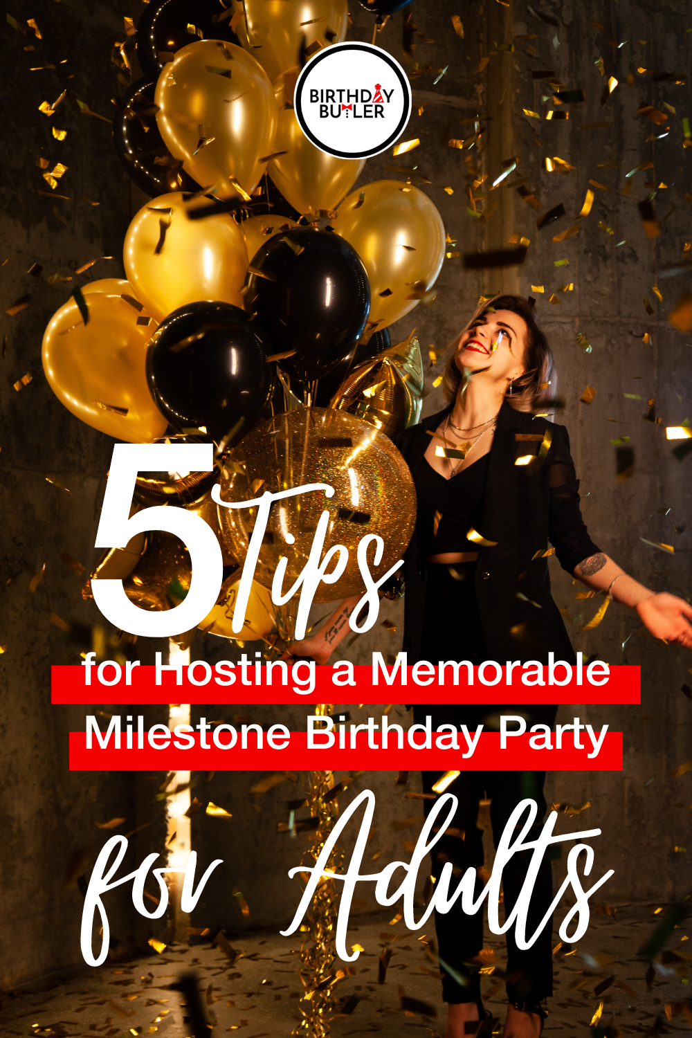 milestone birthday party for adults