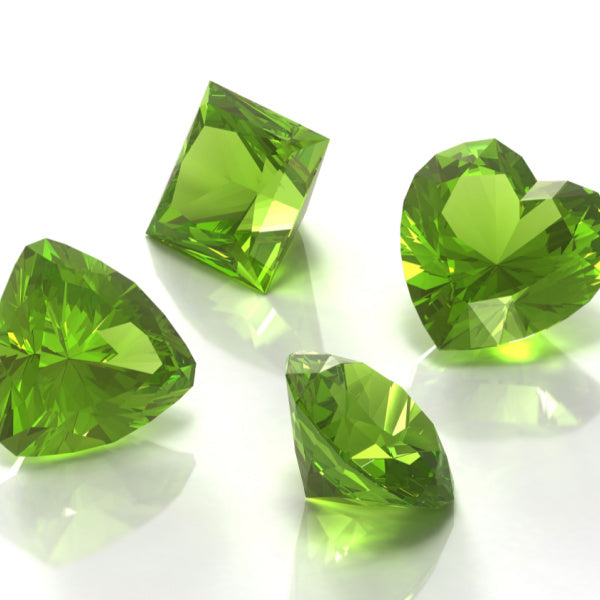 Periodot is the  birthstone for August - Birthday Butler