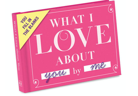 What I Love About You Great Birthday Gift Idea for Her