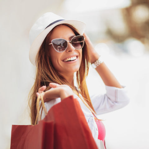 50th Birthday Gift of a Shopping Spree-idea from Birthday Butler