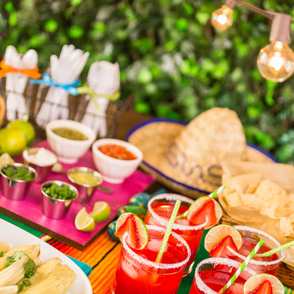 Mexican fiesta party idea from Birthday Butler