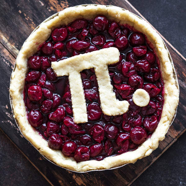 Cherry pie for pi day March 14th